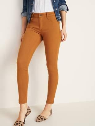 Old Navy Mid-Rise Rockstar Super Skinny Pop-Color Jeans for Women
