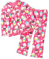 Carter's cupcake microfleece pajama set - girls