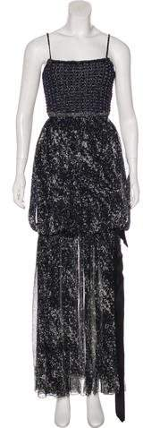 Chanel Silk Evening Dress w/ Tags