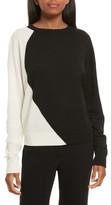 Theory Women's Intarsia Silk Blend Sweater