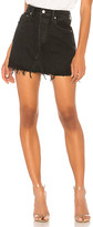 A Gold E Agolde AGOLDE Quinn High Rise Skirt. - size 24 (also