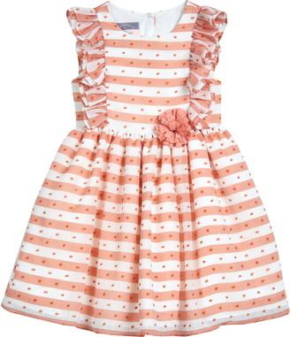 Pippa & Julie Stripe Ruffle Dress