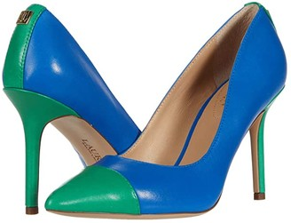 Lauren Ralph Lauren Lindella (Masai Blue/Spring Emerald) Women's Shoes