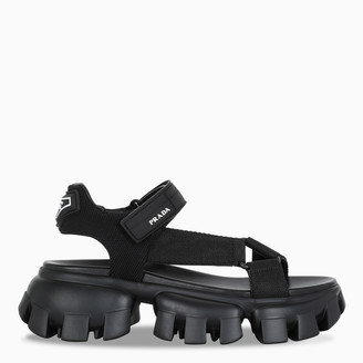 Prada Black Cloudbust Thunder sandal