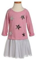 Toddler Girl's Pippa & Julie Sequin Star Tutu Dress