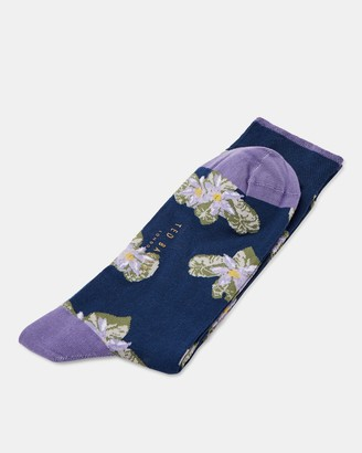 Ted Baker RINGMER Floral patterned socks