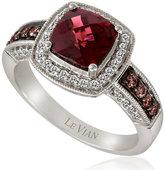 Le Vian Chocolatier Le Vian 14ct Vanilla Gold diamond & rhodolite ring