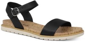 Sun + Stone Mattie Flat Sandals, Created for Macy's Women's Shoes