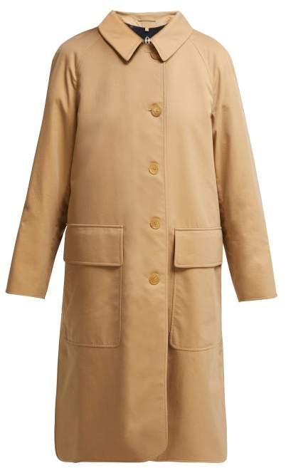 Burberry Dayrell Cotton Gabardine Trench Coat - Womens - Beige