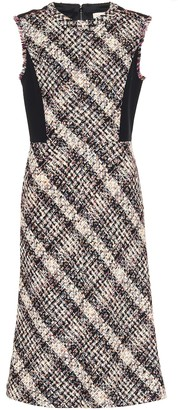 Tory Burch Tweed midi dress