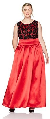 Brinker & Eliza Women's Size Lace Top Ballgown