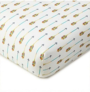 Levtex Baby Zambezi Medallion Crib Fitted Sheet Bedding