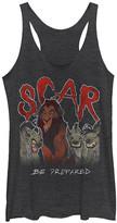 Fifth Sun Women's Tee Shirts BLK - The Lion King Heather Black 'Scar Be Prepared' Tank - Women & Juniors