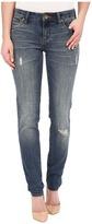 KUT from the Kloth Diana Skinny Jeans in Zest w/ Dark Stone Base Wash