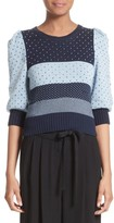 Marc Jacobs Women's Cotton Jacquard Sweater