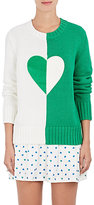Tory Sport Women's Graphic Colorblocked Cotton-Blend Sweater