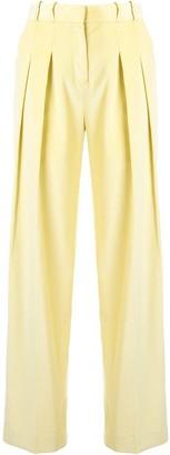 Victoria Victoria Beckham Pleated Corduroy Trousers