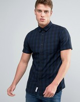 Jack and Jones Checked Shirt with Short Sleeves