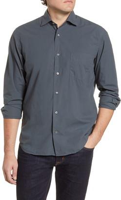Hartford Penn Pat Regular Fit Button-Up Shirt