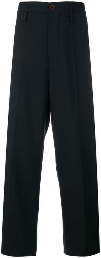 Marni cropped chino trousers