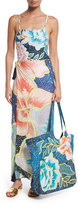 Mara Hoffman Arcadia Floral-Print Beach Tote Bag