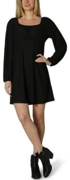 Ultra Flirt Juniors' Emma Scoop-Neck Dress