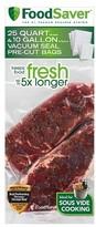 FoodSaver Multipack Bags for Sous Vide® 25 Qt & 10 Gal - FBSQ25G10-000