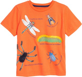 Boden Texture Insects Graphic Tee