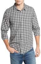 RVCA Men's Hayes Plaid Flannel Sport Shirt
