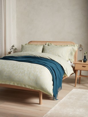 John Lewis & Partners Textured and Decorative Meadow Cotton Bedding