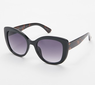 Isaac Mizrahi Live! Rounded Eye Sunglasses
