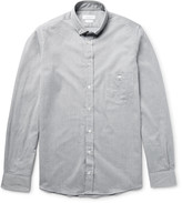 Richard James - Slim-fit Button-down Collar Cotton-chambray Shirt