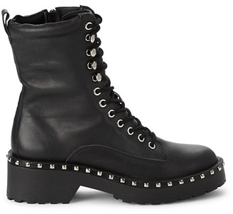 Steve Madden Felina Studded Leather Boots