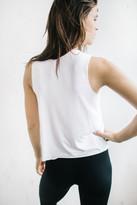 Joah Brown - Minimal Muscle Tank In White