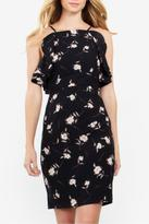 Sugar Lips Sugarlips Ruffle Floral Dress