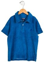 Vilebrequin Boys' Terry Cloth Short Sleeve Shirt