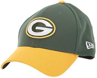 New Era NFL Team Classic 39THIRTY Flex Fit Cap - Green Bay Packers (Green/Gold) Baseball Caps