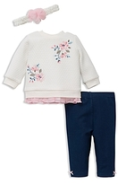 Little Me Girls' Blossoms Set with Headband - Baby