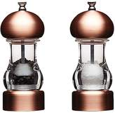 Master Class 14.5cm Copper Effect Filled Capstan Mills (Set of Two)