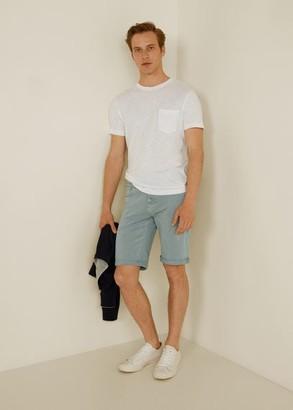 MANGO MAN - Color bermuda shorts light/pastel grey - 28 - Men