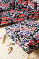 Liberty for Anthropologie Feather Bloom Edlyn Cocktail Ottoman