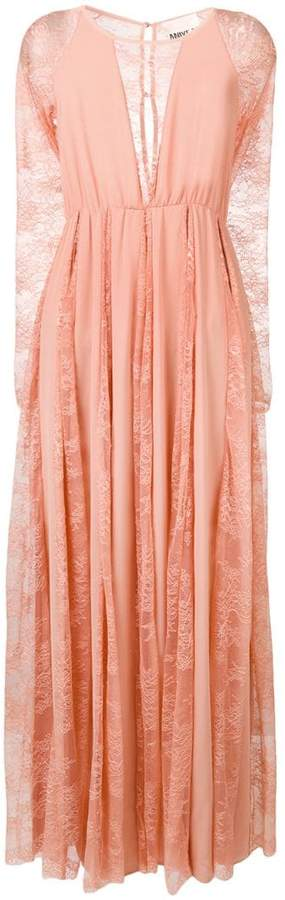 Aniye By lace inserts long dress