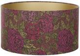 Liberty of London Designs Jubilee Lamp Shade - Kate Ada Garnet Table - 40x21cm