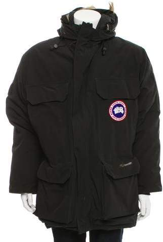 Canada Goose Expedition Fur-Trimmed Parka Coat