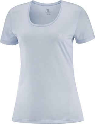 Salomon Women's Standard Agile Short Sleeve Running Tee