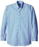Cutter & Buck Men's Long Sleeve Waterfall Check Shirt