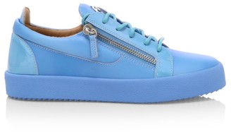Giuseppe Zanotti Birel Leather Low-Top Sneakers