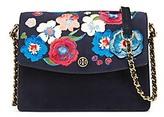 Tory Burch Parker Embroidered Convertible Shoulder Bag