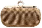 Carte Blanche Glam Gold Ring Clutch