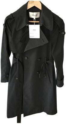 Diane von Furstenberg Black Trench Coat for Women